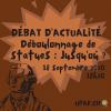 DÉBAT D'ACTUALITÉ: « Déboulonnage de statues : Jusqu'où ? »